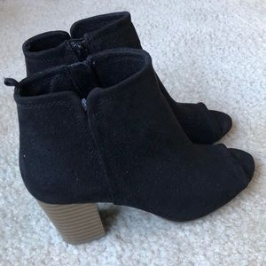 Fall Suede Booties